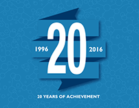 World Water Council | 20th Anniversary Logo