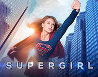 Supergirl - Adaptaciones Vía Pública