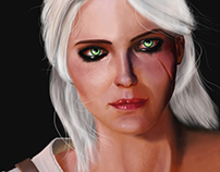 Cirilla - The Witcher 3