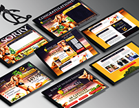 African Mango Landing Page & Processing Pages
