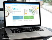 Biovaistine.lt - Responsive webdesign