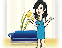2D Cartoon Illustration