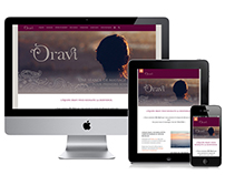 Oravi - Site internet