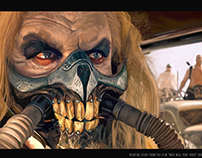 Painting study from the film: Mad Max: fury road.