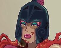 Enyo, Goddess of War