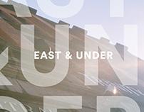 East & Under brochure