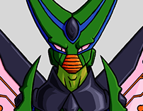 Character Redesign - Cell (Dragon Ball Z)