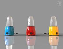 Solidworks: Bullet Style Blender