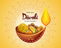Diwali Poster | Sweet Brand