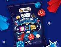 Solitas Mini Surtidas - Packaging design