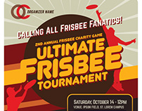 Ultimate Frisbee Flyer Templates