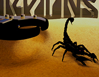 Animation model for the Scorpions