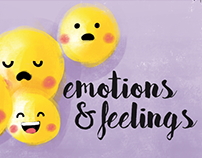 "Book Illustrations ""Emotions&feelings"""