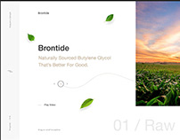 Brontide | Created in Adobe XD