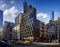 Tribeca Rogue Building NY CGI