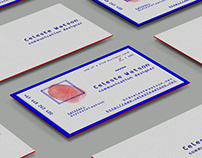 Limited Edition Personalised Business Cards - Identity