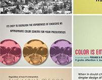 College Work - Presentation Design