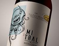 Mistral | Wine Label