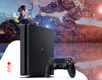 PS4 Landing Page