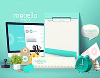 Mobella Events branding identity