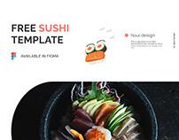 Free Sushi Template