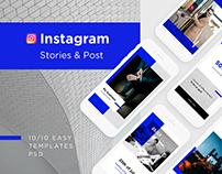 Business - media kit, templates for instagram