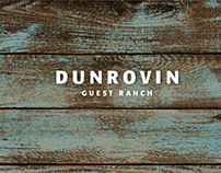 Dunrovin Guest Ranch Brand Identity