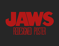 Redesigned Posters - Jaws