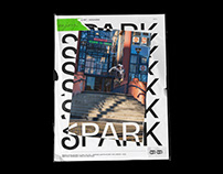 SPARK Skateboard Magazine - Editorial Design