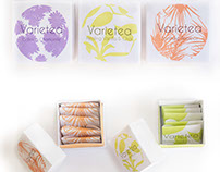 Varietea Organic Tea - Package Design
