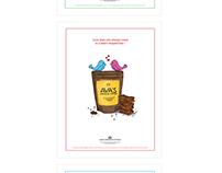 Ava's Premium Toffee ad