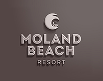 Moland Beach Resort Branding