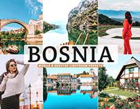 Free Bosnia Mobile & Desktop Lightroom Presets