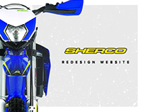 Redesign Website for Sherco