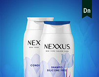 Conceptual of Nexxus Packaging