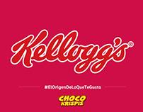 Kellogg's® y ChocoKrispis® en: #ElOrigenDeLoQueTeGusta