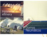 Domos Chile / Sitio Web