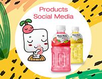Products - Social Media