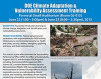 Climate Change Poster, DOE 2015