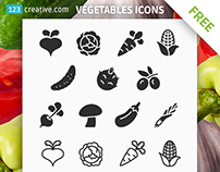 Vegetables icons FREE download