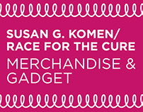 Race for the Cure - Merchandise and Gadget