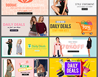 99 Fashion Banners Websites Slider