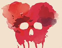 Skull, Shirt Design
