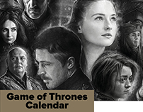 HBO Game Of Thrones Calendar 2015