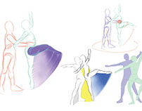 Partnering in Dance Visualization