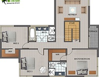 Most Important 2D Floor Plan