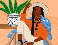 East African Safari Girl