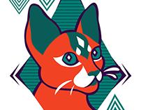 Techno Cat
