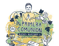 Fist Communion Card