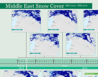 Middle East Snow Cover